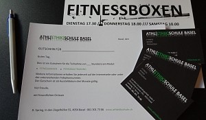 GIFT VOUCHERS FITNESS BOXING